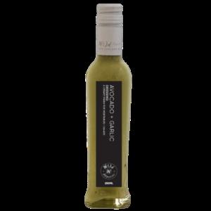 avokado hvidløg dressing