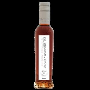 karamelsauce med brandy